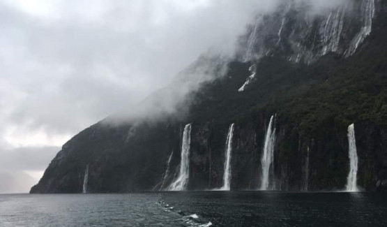 A Travellers Tale | Rainy Day in Milford Sound - 1